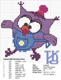 Схема вышивки «Совунья»