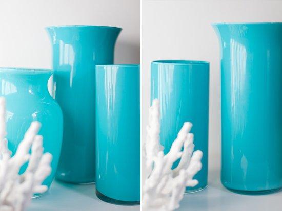 Декорирование стеклянных ваз своими руками: окрашивание