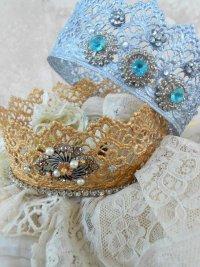 Идеи для детских костюмов на Новый год: кружевная корона