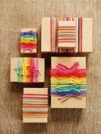 Идея для упаковки подарков к Новому году