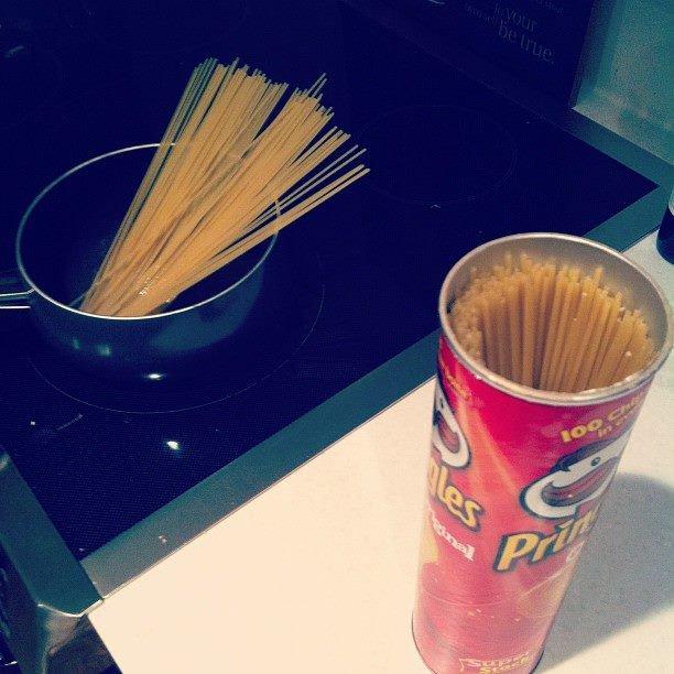 Лайфак: как хранить спагетти