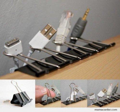 Как организовать провода от техники?