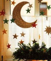 Идея украшения дома к Новому году