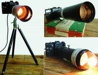 Вторая жизнь старых фотоаппаратов: винтажные лампы Praktica Camera Lamp и Zenit Camera Lamp