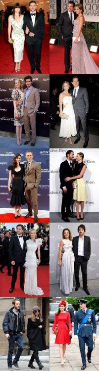 Самые стильные звездные пары 2012 года по версии Vogue