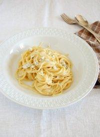Спагетти с горгонзолой