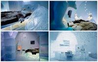 Ледяная гостиница Icehotel в Швеции