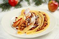 Яблочная начинка для рождественских блинчиков