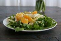 Салат с апельсинами, рукколой и фенхелем