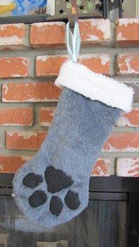 Рождественский чулок для вашей кошки