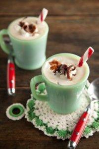 Шоколадно-мятный кофе