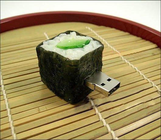 И снова флешка... и снова суши