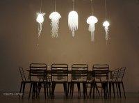 Мы веселые медузы: коллекция светильников Jellyfish Lamps от Roxy Russell