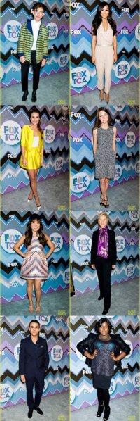 Актеры сериала «Хор» на мероприятии TCA Fox All-Star Party