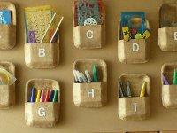 Полочки-кармашки для порядка в детской