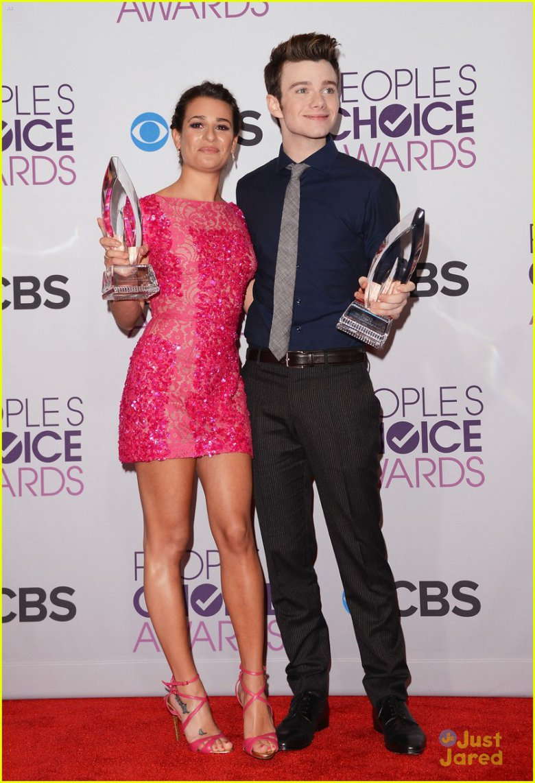Лиа Мишель и Крис Колфер на People`s Choice Awards 2013