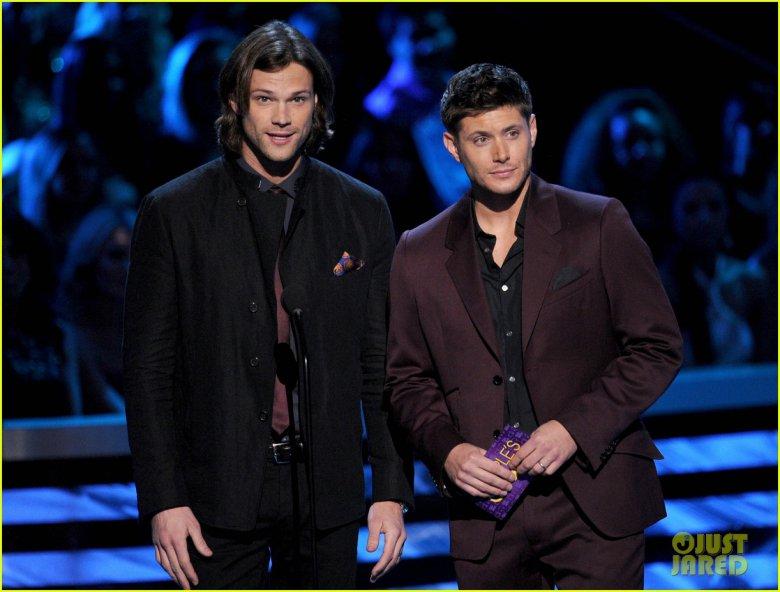Дженсен Эклз и Джаред Падалеки на People`s Choice Awards 2013