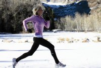 Возможен ли бег зимой?