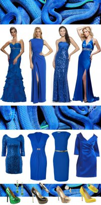 Модные цвета 2013 года: Синяя Водяная Змея