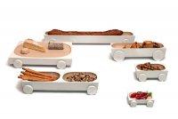 Kart: серия дизайнерской посуды на колесиках