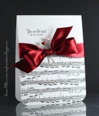 Идея открытки на День святого Валентина любимому музыканту