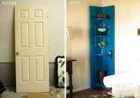 Вариант использования старой ненужной двери