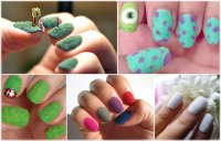 Утеплям ногти: бархатный маникюр
