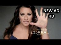 Лиа Мишель в новой рекламе L`Oreal Paris