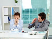 Профилактика гриппа в офисе