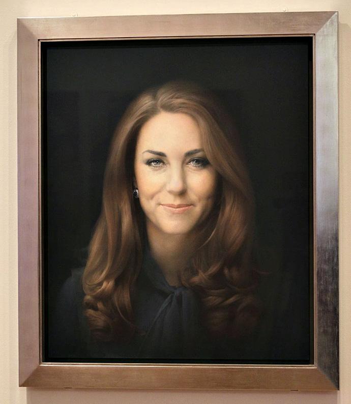 Портрет Кейт Миддлтон в Национальной галлерее