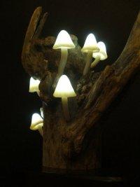 «Грибная» лампа