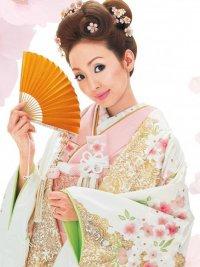 Свадебная прическа в японском стиле