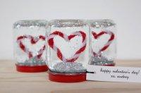 Снежный шар на День святого Валентина
