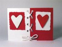 Идея легкой открытки на День святого Валентина
