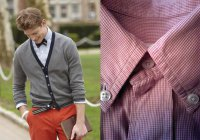 Зачем на воротнике рубашки нужна задняя пуговица?
