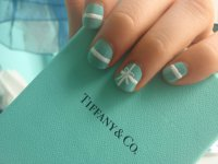 Маникюр в стиле Tiffany