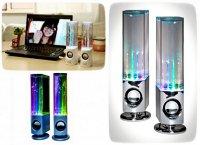 Water Dancing Speakers: стильные колонки с фонтанчиками и светомузыкой
