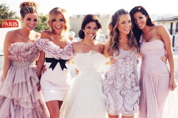 Скажи мне, кто твои друзья, или Платья для подружек невесты