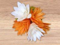 Искусство карвинга: лилия из моркови