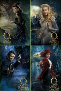 Новые характер-постеры к фильму «Оз: Великий и Ужасный»