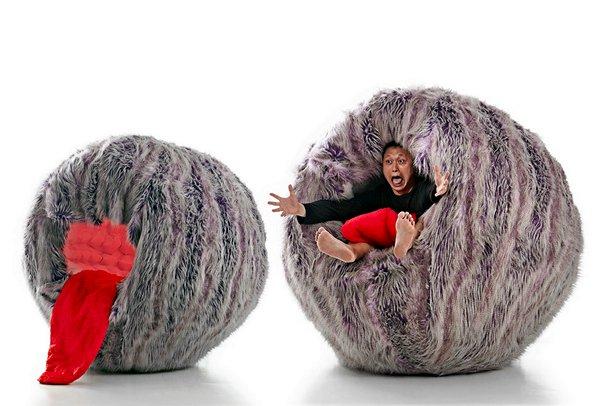 Moyee Monster Chair: монструозное кресло от Jason Goh