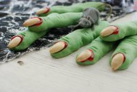 Печенье «Зеленые пальцы ведьмы»