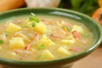 Густой суп-капустняк