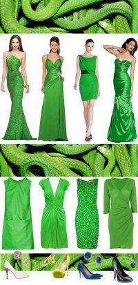 Модные цвета 2013 года: Лесная Змея