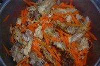 Салат из вешенок и моркови
