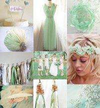 Свадебные тренды 2013: мятная свадьба