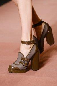 Обувь с массивными каблуками