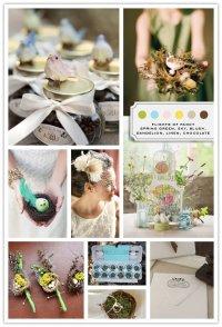 Свадебные тренды 2013: птички