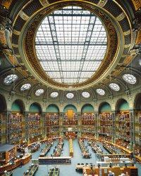 Французский стиль: Национальная библиотека (Париж)