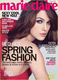 Кира Найтли на обложке Marie Claire (март 2013)